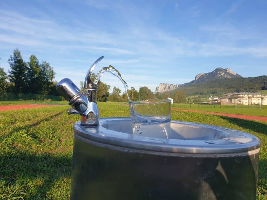 Leitungswasser - Gesundes Trinkwasser
